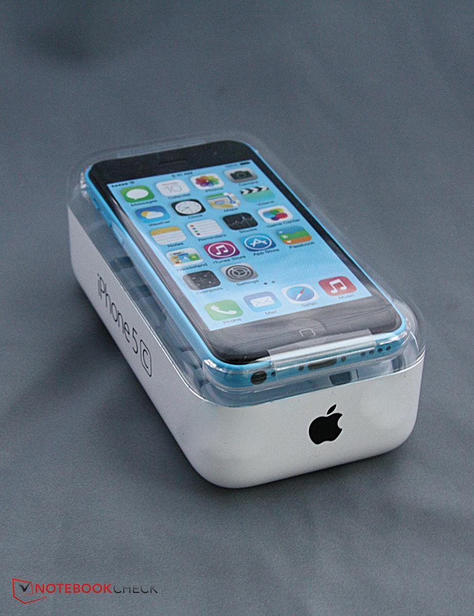 Breve Análise do Smartphone Apple iPhone 5c - Notebookcheck.info