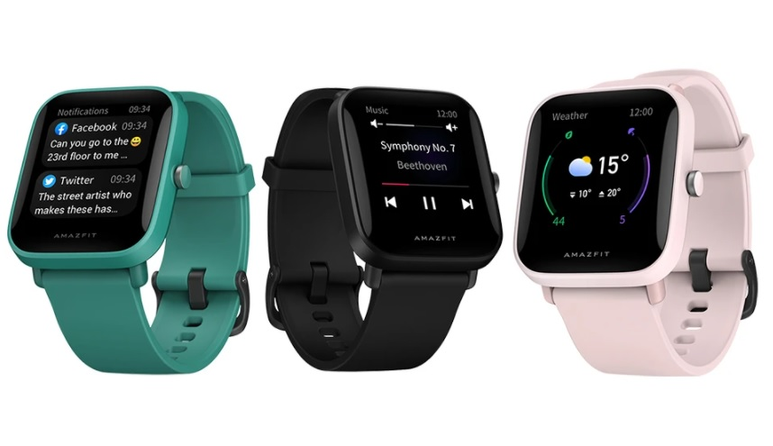 O Amazfit Bip U Pro da Huami oferecerá os mesmos produtos Bip U smartwatch,  mas com GPS e sensor geomagnético incorporados - NotebookCheck.net News