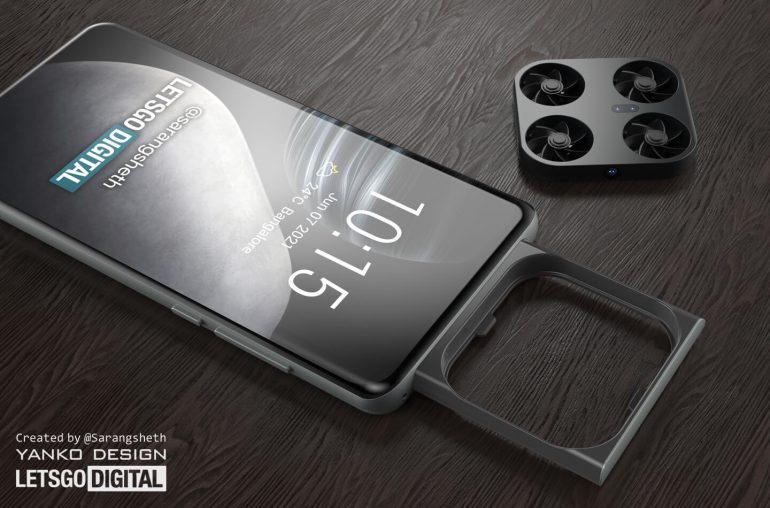 Novo conceito faz prever o smartphone da Vivo com um drone embutido -  NotebookCheck.net News