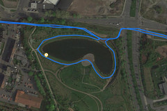 GPS Test: Garmin Edge 500 - Lake