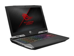 The ASUS ROG G703GXR laptop review. Test device courtesy of notebooksbilliger.de.