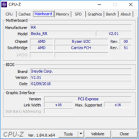 CPU-Z: Caches