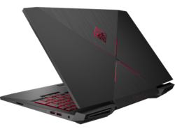 HP Omen 15t-ce000. Test model provided by Computer Upgrade King