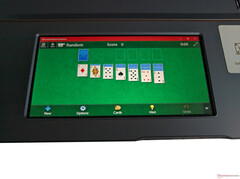Asus ScreenPad: Solitaire