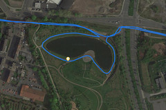 GPS Test: Lenovo Tab P10 - Lake
