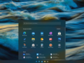 Uma foto do Windows 10X UI. (Fonte: YouTube)