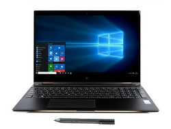 In review: HP Spectre x360 15-ch000. Test model provided by Computer Upgrade King