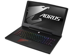 Aorus X7 v7. Review unit courtesy of Gigabyte.