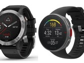 Sports smartwatches: Garmin fēnix 6 and Polar Vantage V in comparison (Photo: Garmin, Polar)