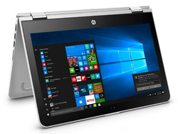 In review: HP Pavilion x360 13-u102ng. Test model provided by Cyberport.de