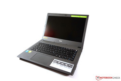 In review: Acer Aspire E5-473G. Test model courtesy of Notebooksbilliger.