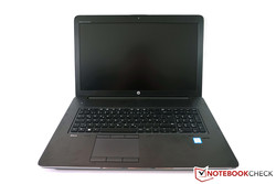 In review: HP ZBook 17 G3. Test model courtesy of HP Germany.