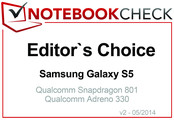 Editor's Choice in May 2014: Samsung Galaxy S5