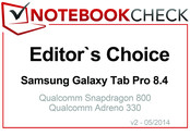 Editor's Choice em abril 2014: Samsung Galaxy Tab Pro 8.4