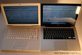 MacBook white versus MacBook 2.0 Alu