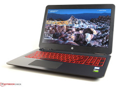 HP Omen 15 2017, test unit provided by notebooksbilliger.de
