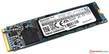 The M.2 SSD can be exchanged without problems