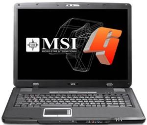MSI GX700 Notebook Driver Windows XP