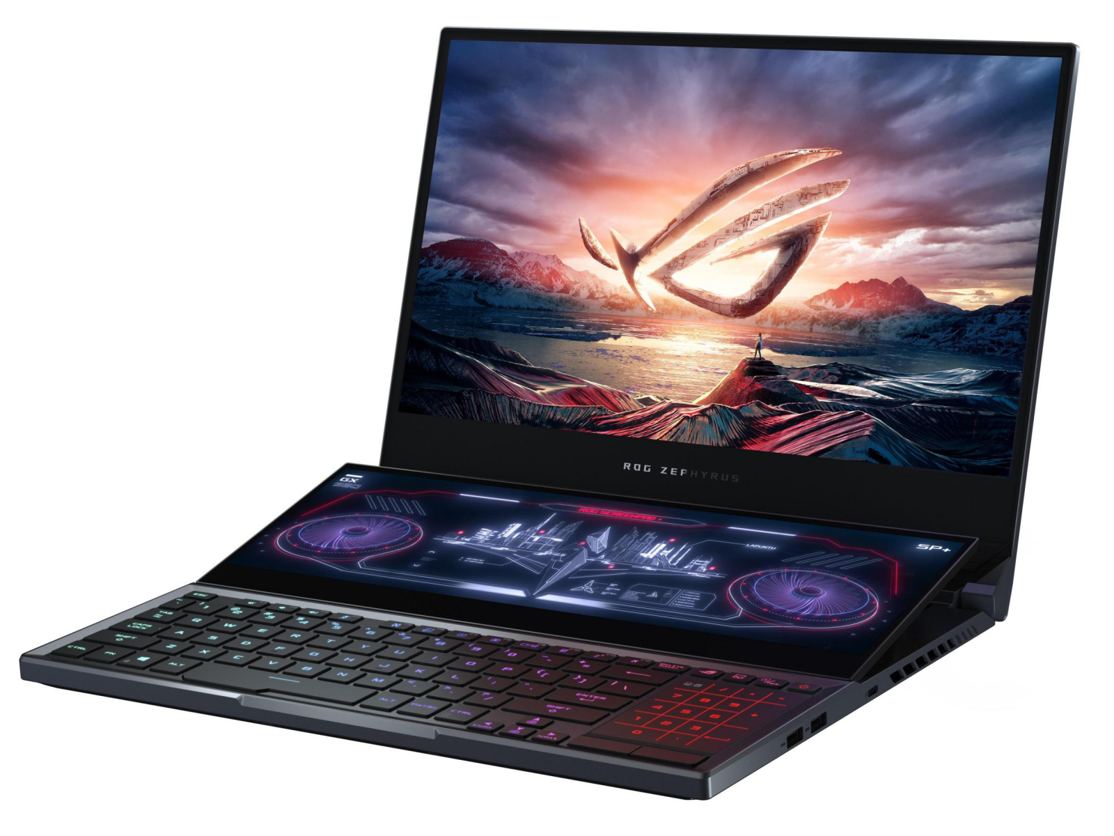 Asus ROG Zephyrus Duo 15 GX550LXS - Notebookcheck.info
