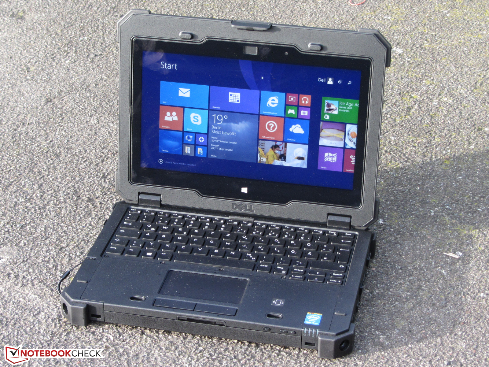 Dell Latitude 12 Rugged Extreme Notebookcheck Info