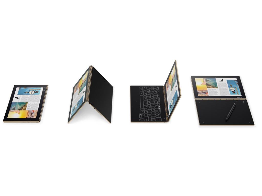 Lenovo Yoga Book serie - Notebookcheck info