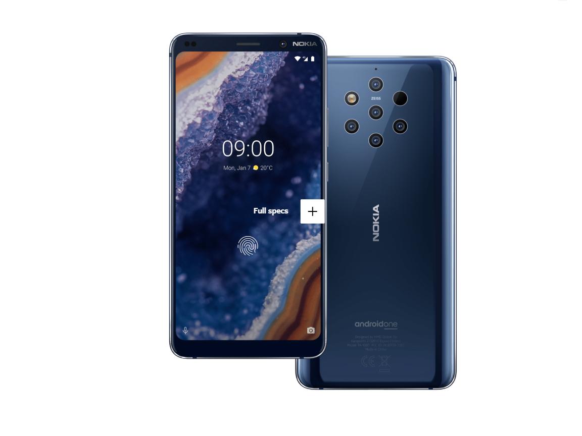 Nokia 9 Pureview Notebookcheck Info