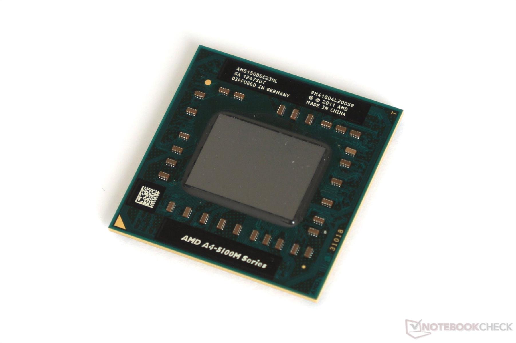 AMD A Series A4 5150M Notebook Processor
